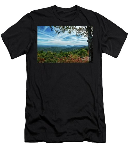Atop The Mountain Men's T-Shirt (Athletic Fit)