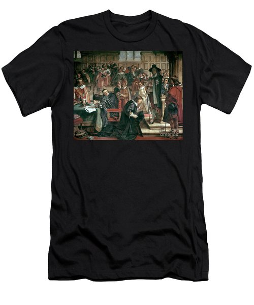 Attempted Arrest Of 5 Members Of The House Of Commons By Charles I Men's T-Shirt (Athletic Fit)