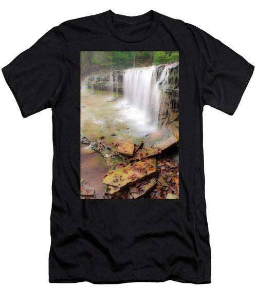 Au Train Falls Men's T-Shirt (Athletic Fit)