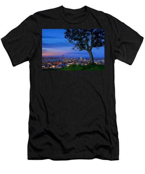 Auckland Men's T-Shirt (Slim Fit) by Evgeny Vasenev