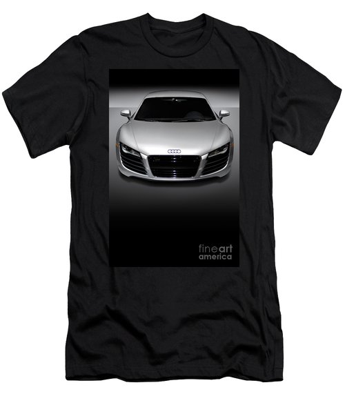Audi R8 Sports Car Men's T-Shirt (Athletic Fit)