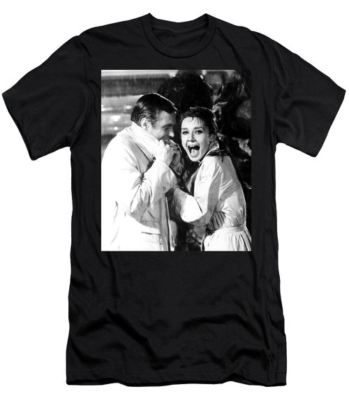 Audrey Hepburn As Holly Golightly Men's T-Shirt (Athletic Fit)