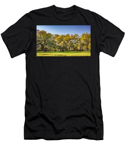 Audubon Park New Orleans Men's T-Shirt (Athletic Fit)