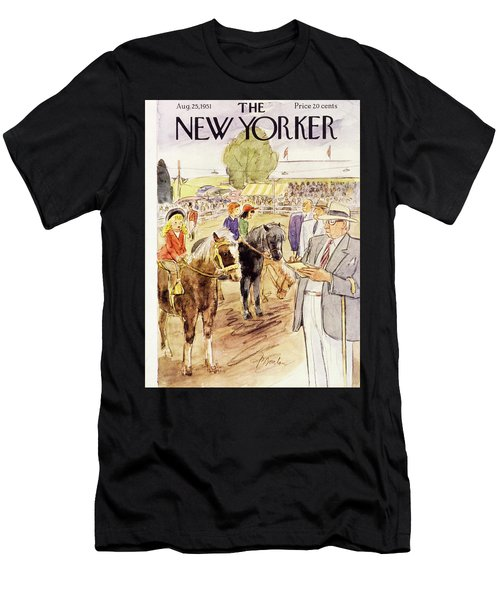 New Yorker August 25 1951 Men's T-Shirt (Athletic Fit)