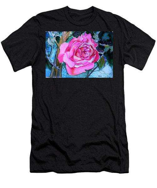 August Pink Men's T-Shirt (Athletic Fit)