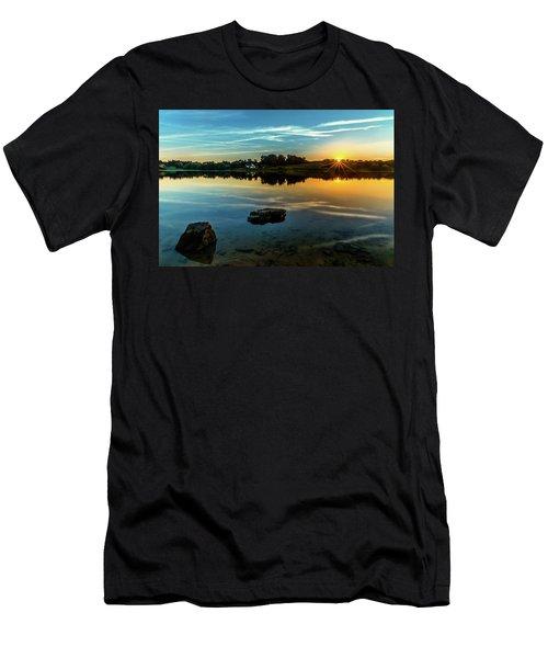 August Sunset Men's T-Shirt (Athletic Fit)