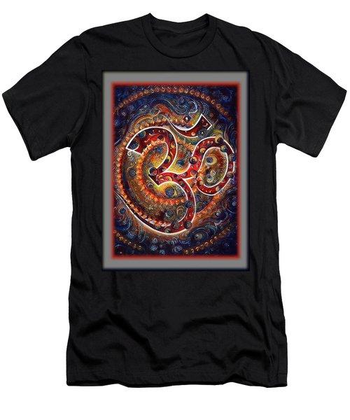Aum - Mantra Of Universal Energy  Men's T-Shirt (Athletic Fit)