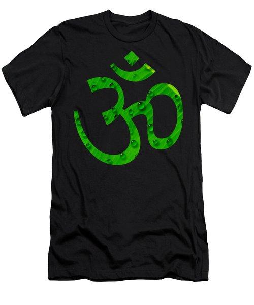 Aum Symbol Digital Painting Men's T-Shirt (Athletic Fit)