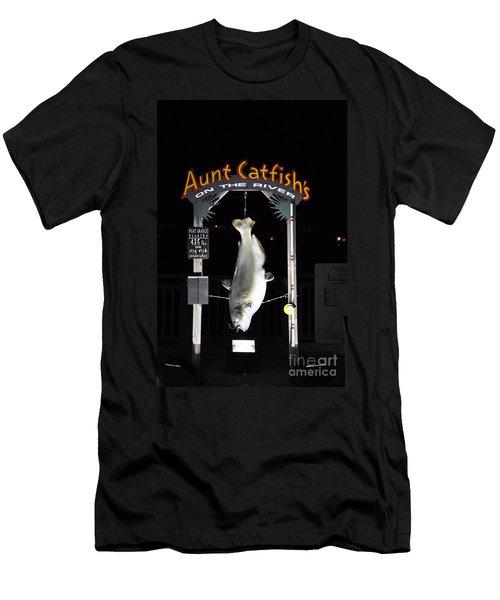 Men's T-Shirt (Slim Fit) featuring the photograph Aunt Catfish by John Black
