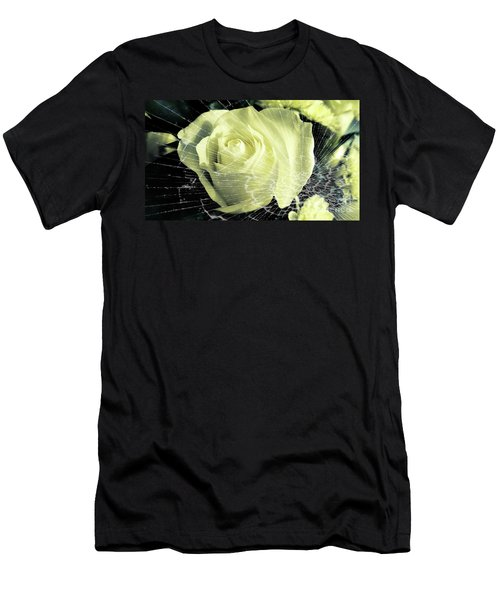 Aunt Edna's Rose Men's T-Shirt (Athletic Fit)