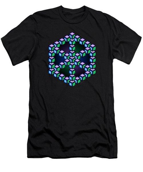 Aurelia Cube Men's T-Shirt (Athletic Fit)
