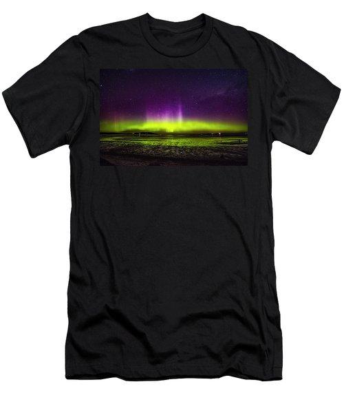Aurora Australis Men's T-Shirt (Athletic Fit)