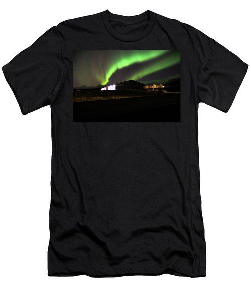 Aurora Borealis - 1 Men's T-Shirt (Athletic Fit)