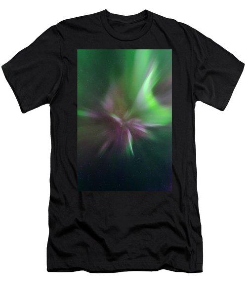 Aurora Borealis Corona Men's T-Shirt (Athletic Fit)