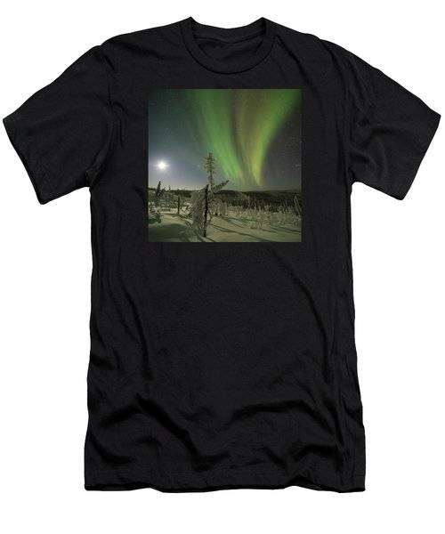 Aurora In The Hoar Frost Men's T-Shirt (Athletic Fit)