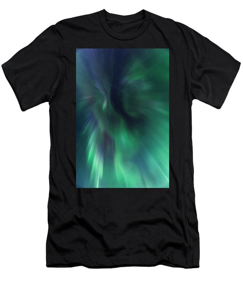 Aurora Kaleidoscope Men's T-Shirt (Athletic Fit)