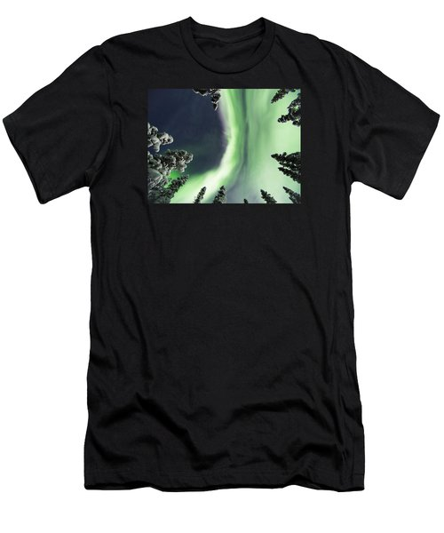 Aurora Lying On Your Back Men's T-Shirt (Athletic Fit)