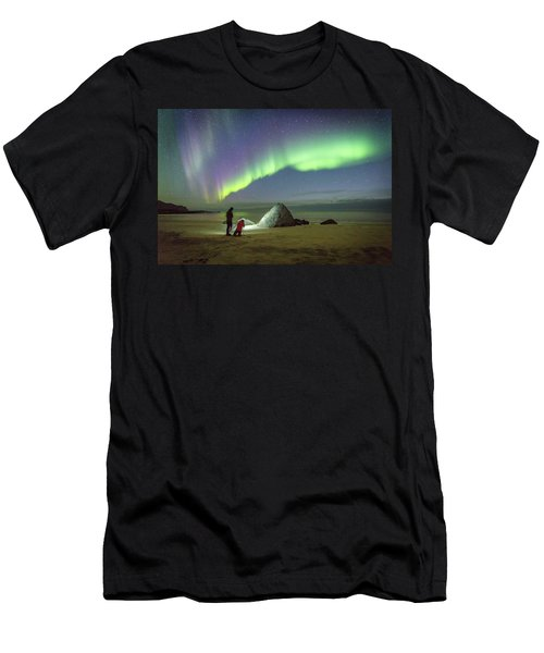 Aurora Photographers Men's T-Shirt (Athletic Fit)