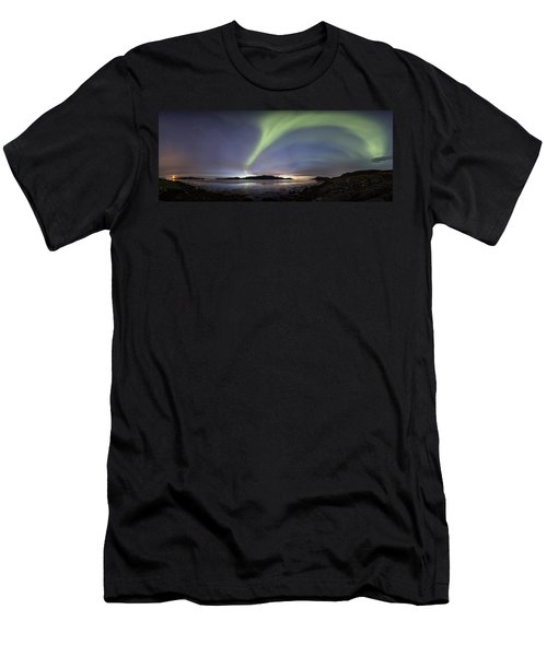 Aurora Polaris Panoramic Men's T-Shirt (Athletic Fit)