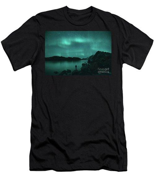 The Dancing Lights Men's T-Shirt (Athletic Fit)