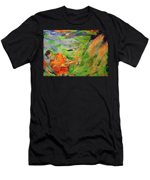 Aus Dem Bunker Spielen   Bunker Shot Men's T-Shirt (Athletic Fit)