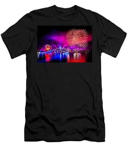 Aussie Celebrations Men's T-Shirt (Athletic Fit)