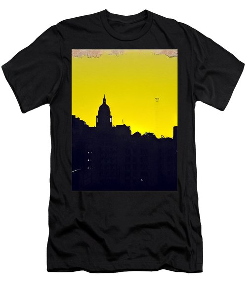 Austin Capital At Sunrise Men's T-Shirt (Athletic Fit)