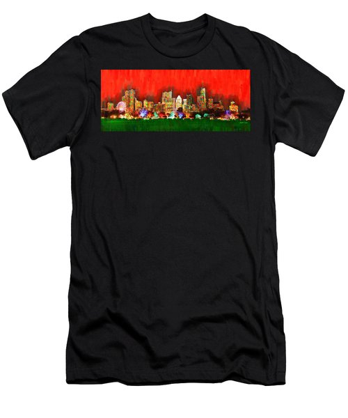 Austin Skyline 160 - Pa Men's T-Shirt (Athletic Fit)