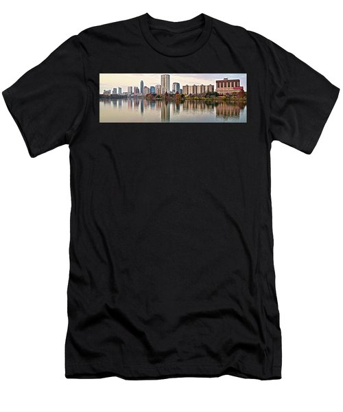 Austin Wide Shot Men's T-Shirt (Athletic Fit)