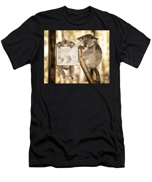 Men's T-Shirt (Athletic Fit) featuring the photograph Koala Australia  by Juergen Held