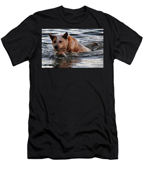 Out For A Swim Men's T-Shirt (Athletic Fit)