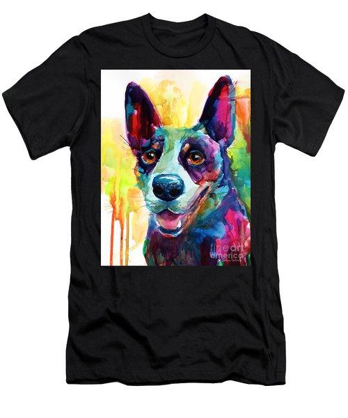 Australian Cattle Dog Heeler Men's T-Shirt (Athletic Fit)