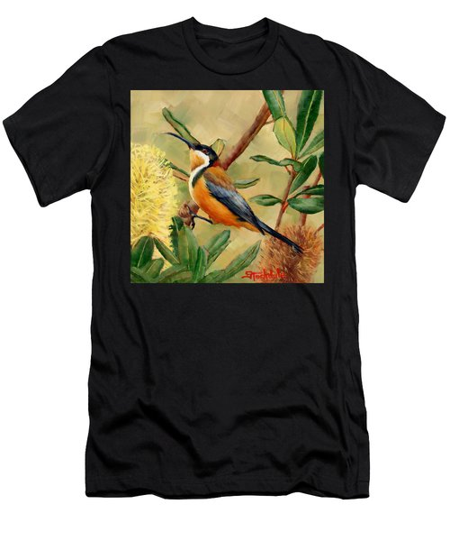 Australian Eastern Spinebill  Men's T-Shirt (Athletic Fit)