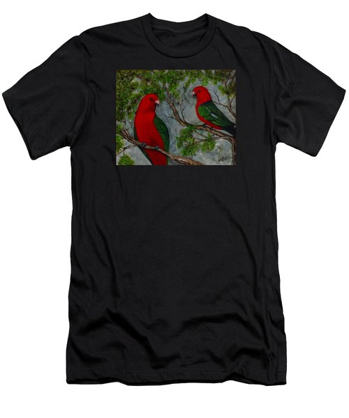 Australian King Parrot Men's T-Shirt (Athletic Fit)
