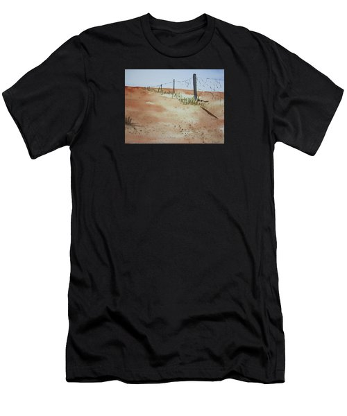 Australian Outback Track Men's T-Shirt (Athletic Fit)