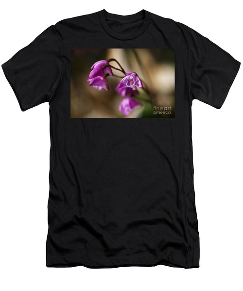 Australia's Native Orchid Small Dendrobium Men's T-Shirt (Athletic Fit)