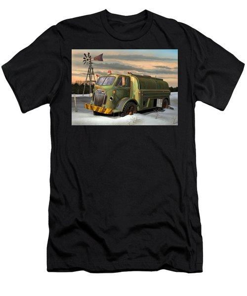 Autocar Waterwagon Men's T-Shirt (Slim Fit) by Stuart Swartz