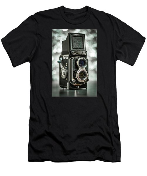 Men's T-Shirt (Slim Fit) featuring the photograph Autocord by Keith Hawley