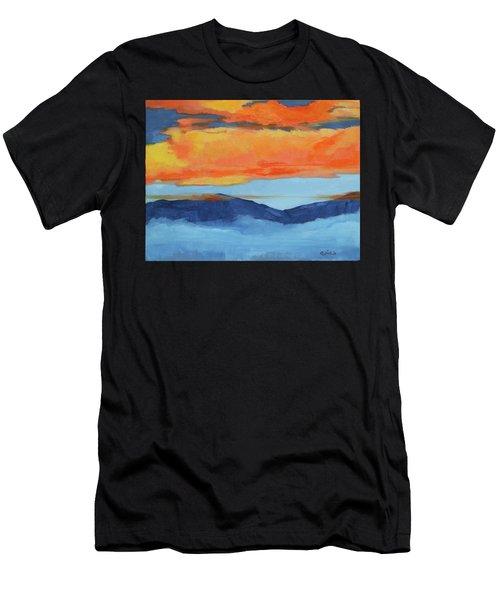 Autumn Alpenglow Men's T-Shirt (Athletic Fit)