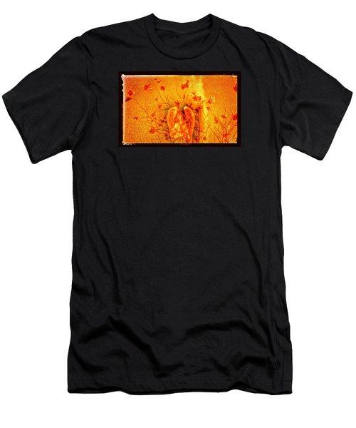 Autumn Angel Men's T-Shirt (Athletic Fit)