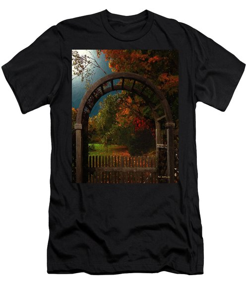 Autumn Archway Men's T-Shirt (Athletic Fit)
