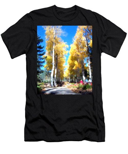 Autumn Aspens Men's T-Shirt (Athletic Fit)