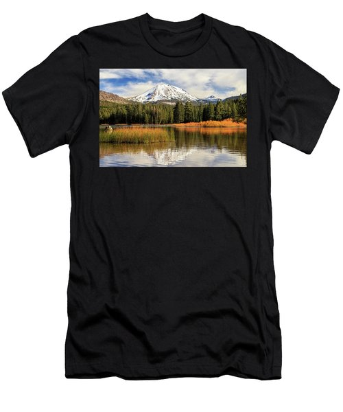 Autumn At Mount Lassen Men's T-Shirt (Athletic Fit)