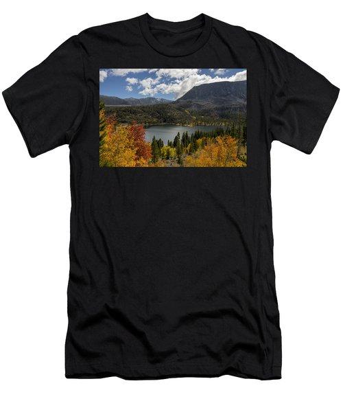 Autumn At Rock Creek Lake Men's T-Shirt (Athletic Fit)