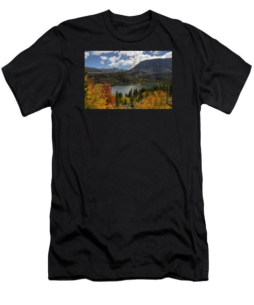 Autumn At Rock Creek Lake Men's T-Shirt (Athletic Fit)