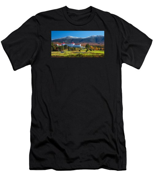 Autumn At The Mount Washington Crop Men's T-Shirt (Athletic Fit)