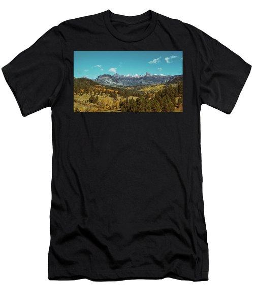 Autumn At The Weminuche Bells Men's T-Shirt (Athletic Fit)