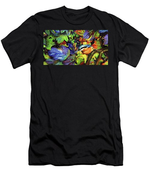 Autumn Blues 2 Men's T-Shirt (Athletic Fit)