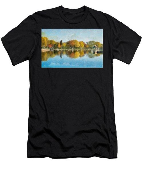 Autumn Blues Men's T-Shirt (Athletic Fit)