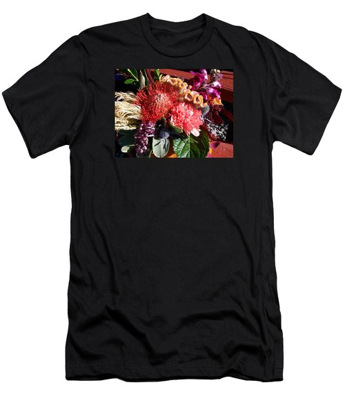 Autumn Bouquet Men's T-Shirt (Athletic Fit)